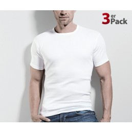 T-Shirt - Shirts by ISA - 3er Pack